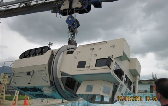 METS® Model Submerged Vehicle Egress Trainer (SVET)