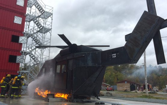 Helicopter Fire Simulator (HFS™)