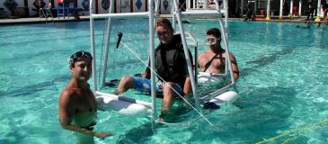 Shallow Water Egress Trainer (SWET)